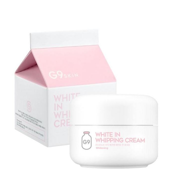 Осветляющий крем с молочными протеинами для кожи вокруг глаз G9 White In Milk Capsule Eye Cream 30ml 0 - Фото 1
