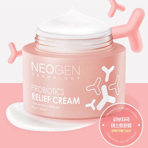 Омолаживающий крем с пробиотиками и фосфолипидами Neogen Probiotics Relief Cream 50g 2 - Фото 2