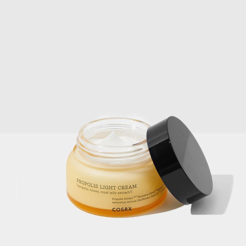Крем увлажняющий с экстрактом прополиса и мёда Cosrx Propolis Light Cream 65 ml
