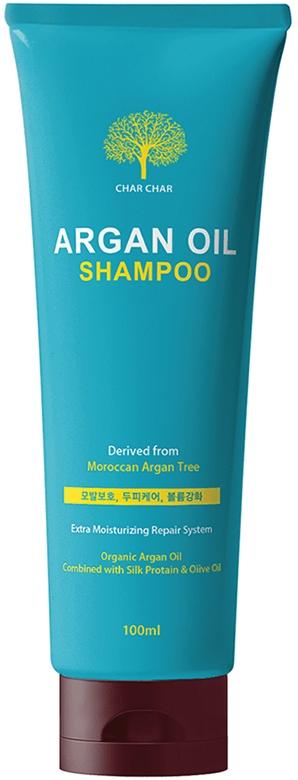 Шампунь для волос восстанавливающий с аргановым маслом Evas Char Char Argan Oil Shampoo