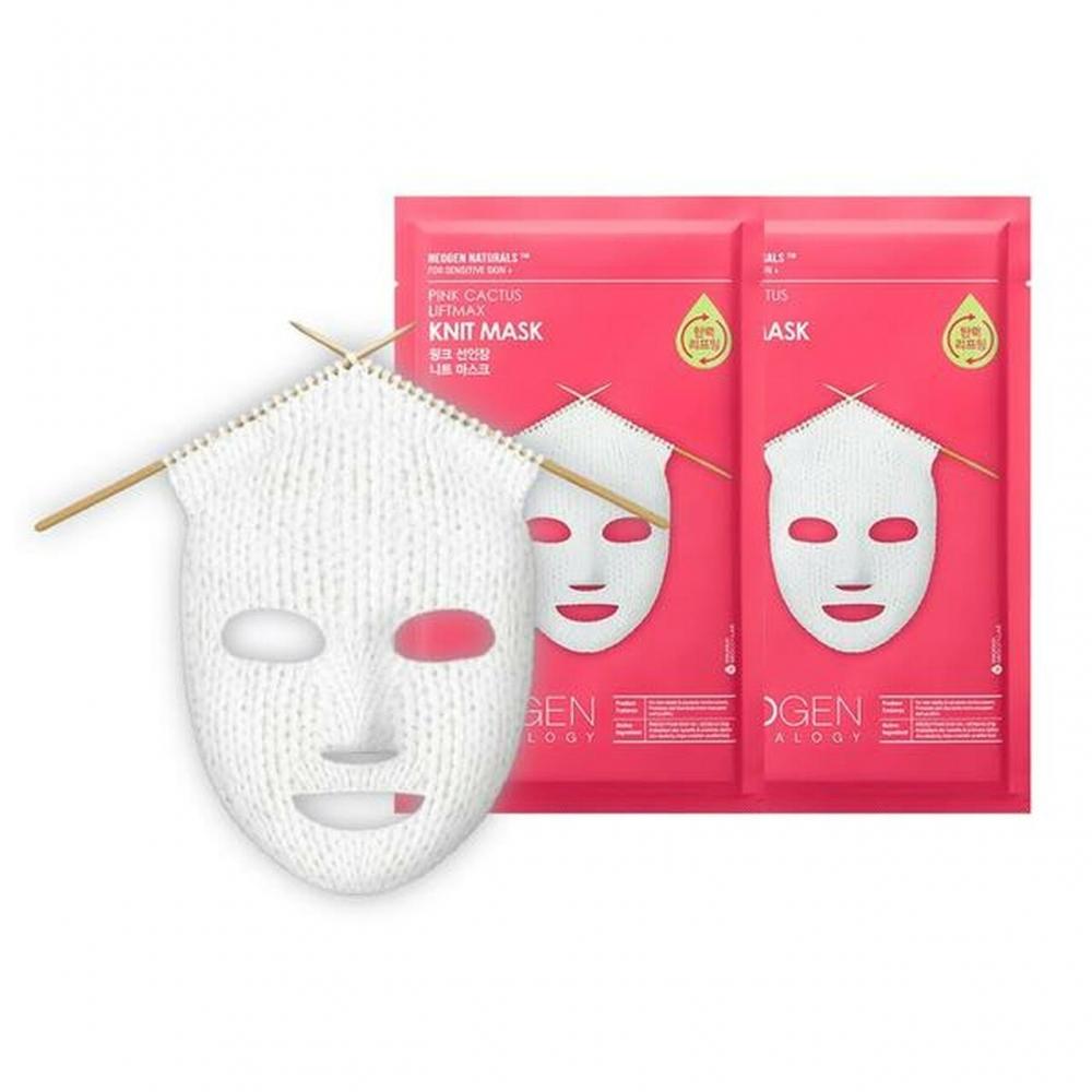 Маска Вязаная Омолаживающая С Керамидами Neogen Pink Cactus Liftmax Knit Mask 60ml 0 - Фото 1