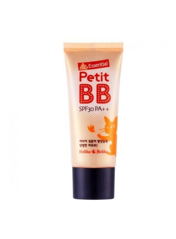 ВВ -крем питательный с экстрактом икры и коллагеном  Holika Holika  Essential Petit BB Cream SPF30 PA++ 30ml 2 - Фото 3