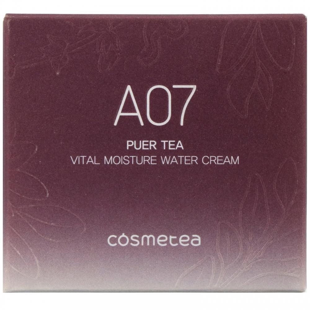 Крем для лица питательный с экстрактом черного чая Puer Tea, Vital Moisture Deep Cream Cosmetea 10ml 0 - Фото 1