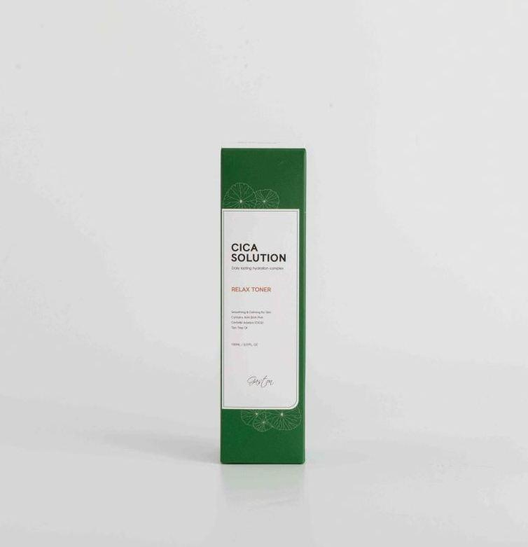 Эмульсия увлажняющая для лица Gaston Cica Solution Relax Emulsion 150ml