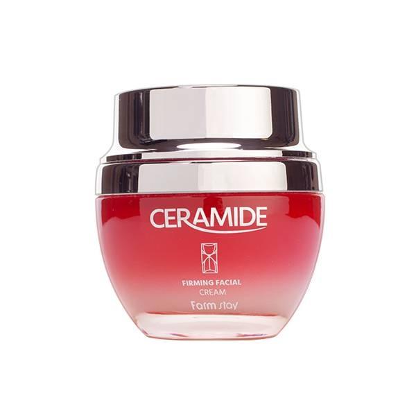 Крем Для Интенсивного Увлажнения И Восстановления Кожи С Керамидами FarmStay Ceramide Firming Facial Cream 50ml 2 - Фото 3