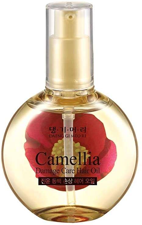 Питательное масло для поврежденных волос Daeng Gi Meo Ri Camellia Damage Care Hair Oil 67ml 2 - Фото 2