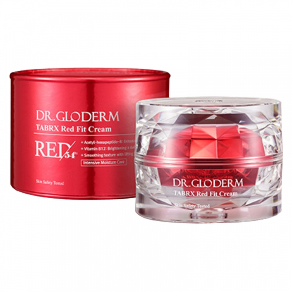 Антивозрастной крем с лифтинг-эффектом для лица Dr.Gloderm TABRX Red Fit Cream 50ml 0 - Фото 1