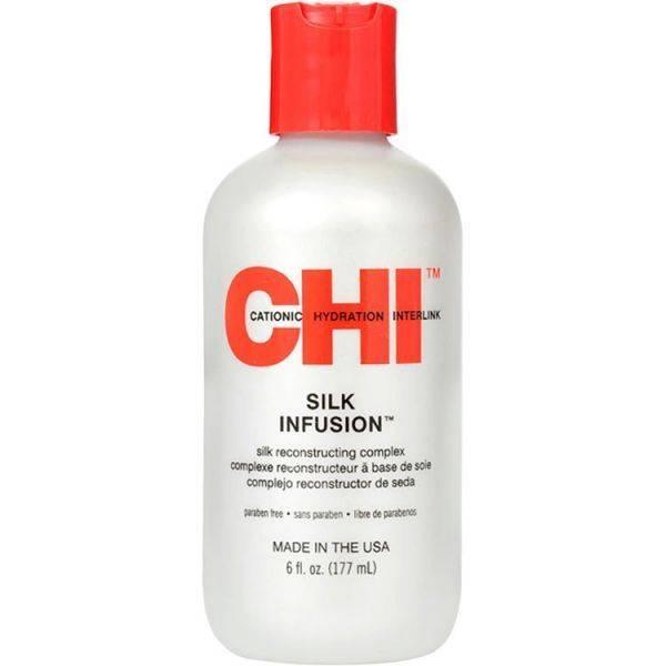 Комплекс несмываемый восстанавливающий с шелком для волос CHI Silk Infusion  0 - Фото 1