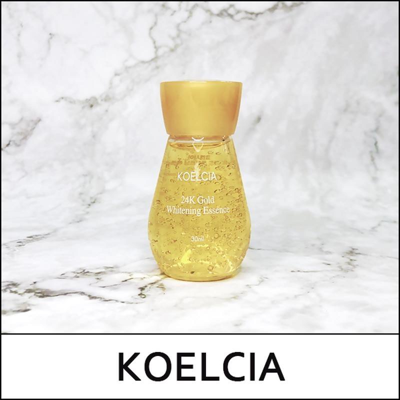 Эссенция антивозрастная осветляющая с золотом для лица KOELCIA 24K Gold Whitening Essence 30ml 2 - Фото 2