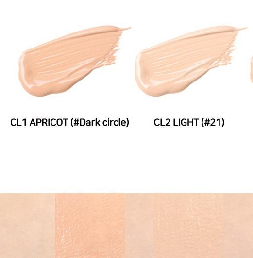 Консилер для маскировки недостатков с успокаивающим действием Merzy The First Creamy Concealer 5.6g 2 - Фото 3