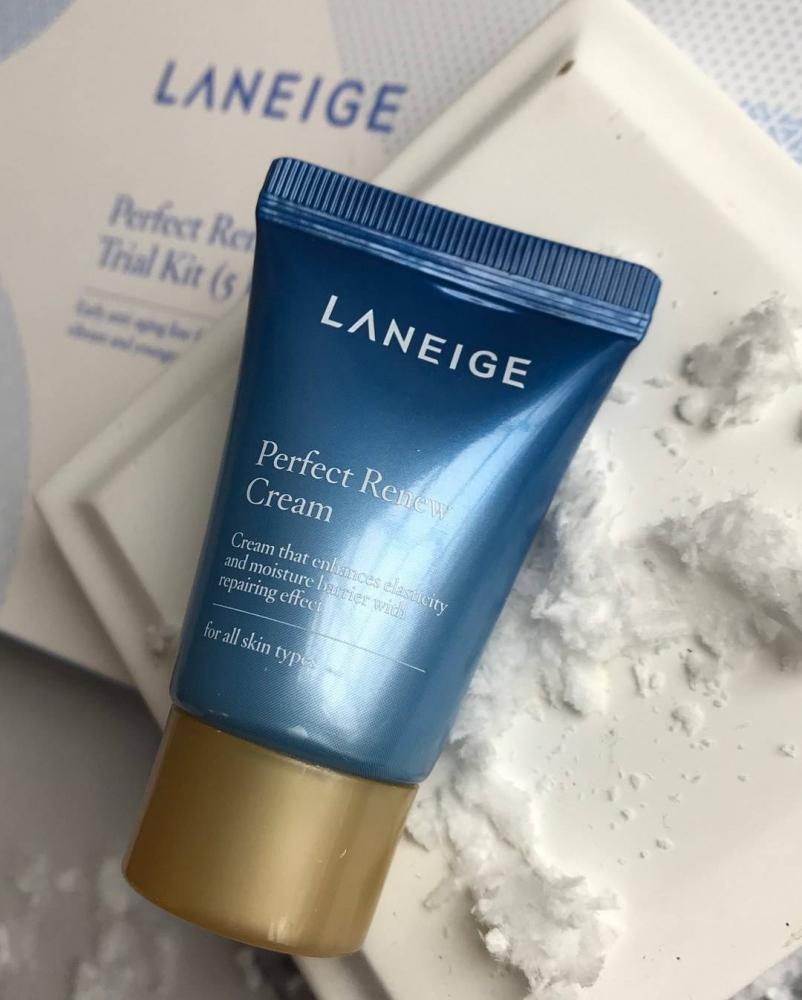 Набор для глубокого увлажнения кожи Laneige Perfect Renew Trial Kit 3 - Фото 3