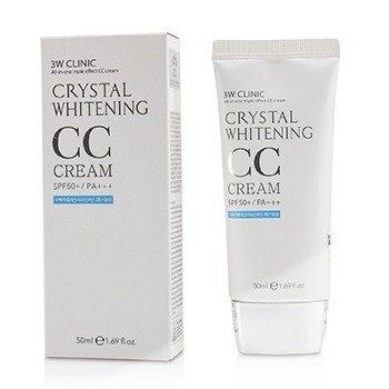СС-Крем Осветляющий 3W CLINIC Crystal Whitening CC Cream SPF40PA+++ 50ml