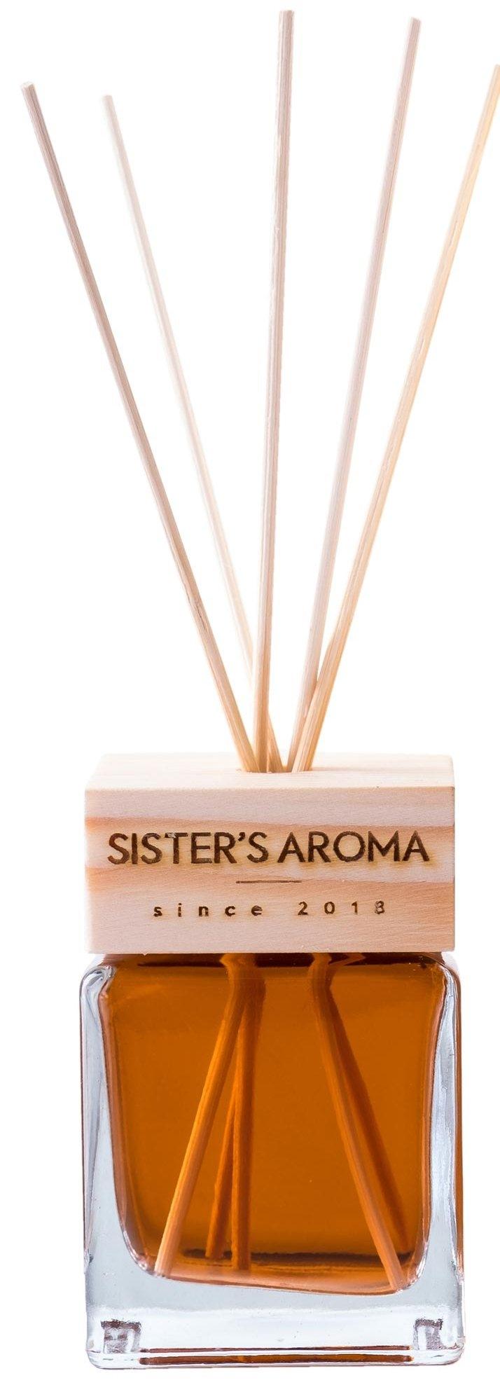 Аромадиффузор для дома и офиса SISTER'S AROMA Reed Diffuser «Chocolate» 120ml 2 - Фото 2
