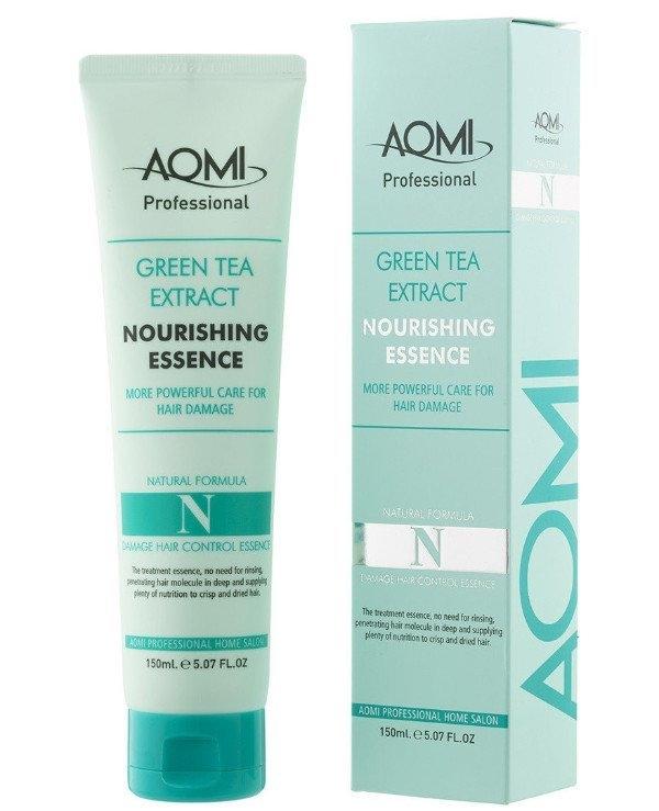 Эссенция восстанавливающая для поврежденных волос Aomi Green Tea Extract Nourishing Essence 150ml 2 - Фото 2