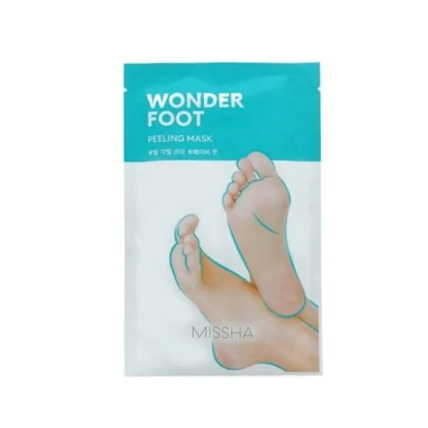 Маска-пилинг для ног с экстрактом лимона Missha Wonder Foot Peeling Mask 50ml 1 - Фото 2
