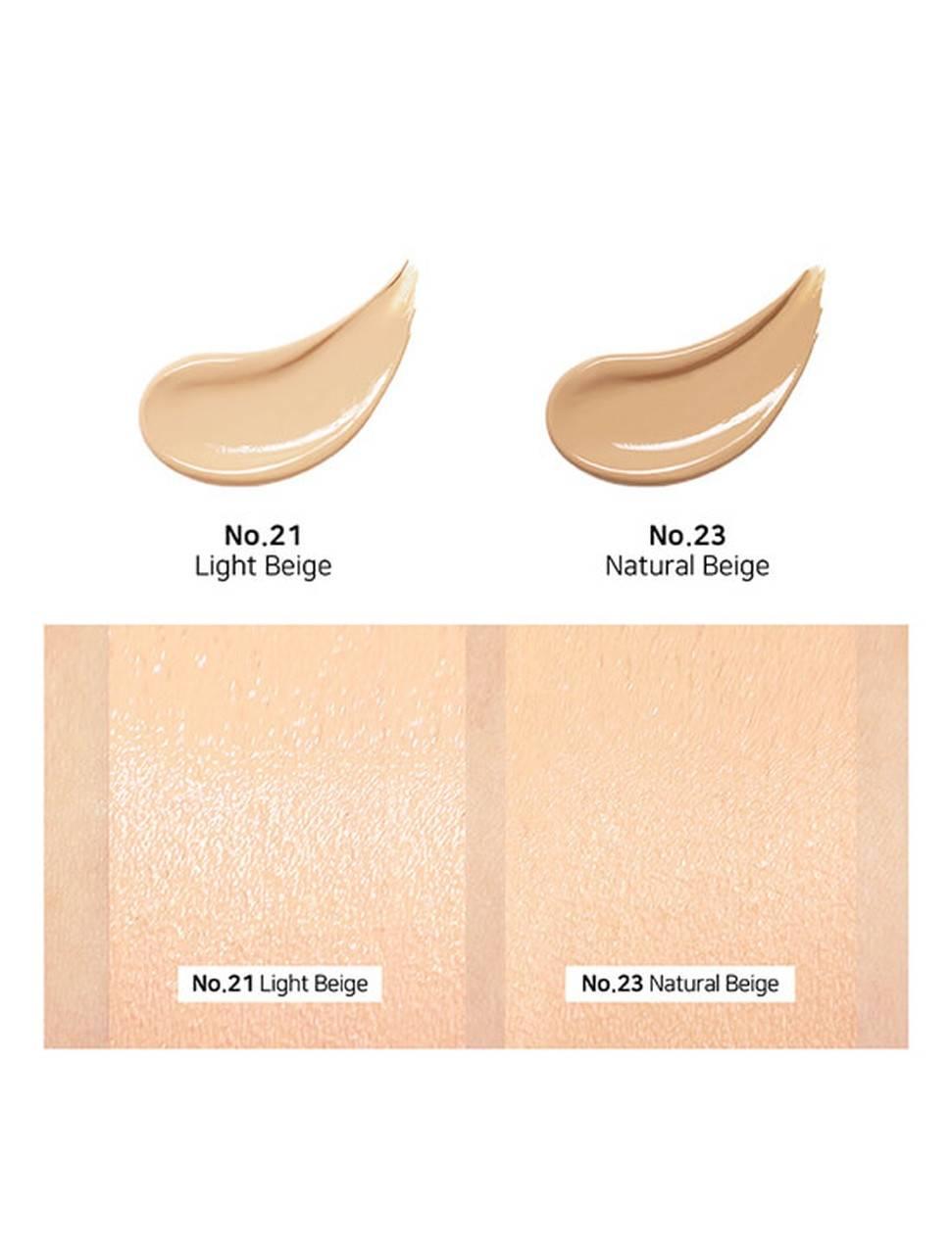 Кушон увлажняющий с жемчужной пудрой By Ecom Honey Glow Cover Cushion 12g 3 - Фото 2