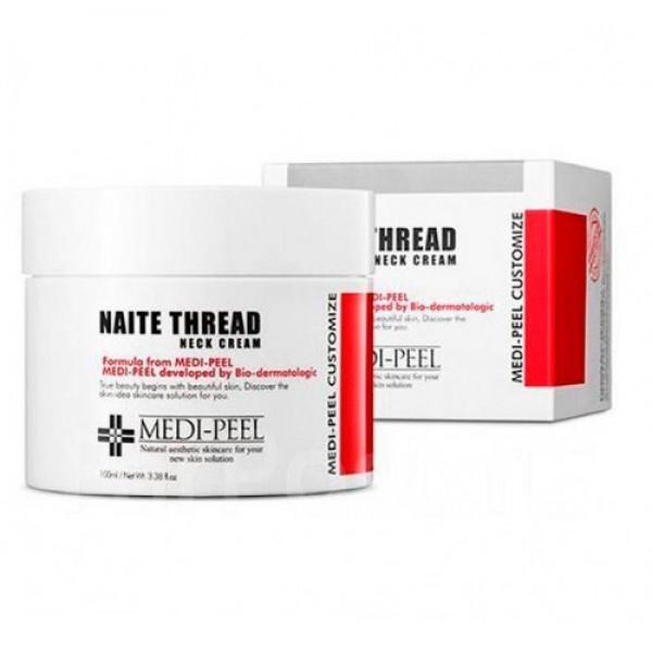 Крем Антивозрастной Для Шеи С Комплексом Пептидов Medi-Peel Naite Thread Neck Cream  0 - Фото 1