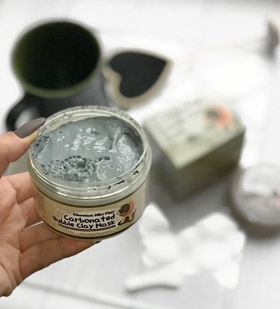 Маска Пузырьковая Для Глубокого Очищения Пор Elizavecca Carbonated Bubble Clay Mask 1 - Фото 2