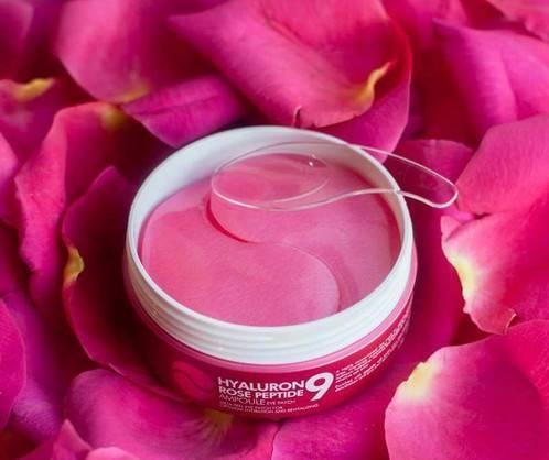Патчи С Пептидами И Розой  MediPeel  Hyaluron Rose Peptide Eye Patch Увлажняющие Восстанавливающие 1 - Фото 2