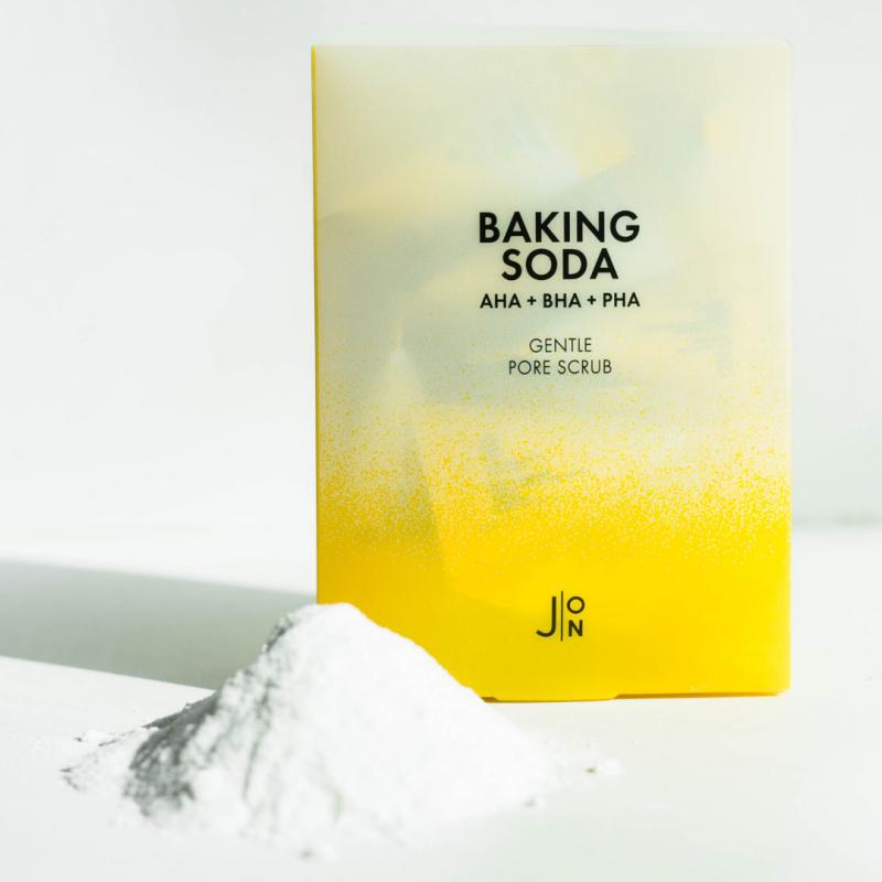 Скраб для лица с содой J:ON Baking Soda Gentle Pore Scrub  2 - Фото 2