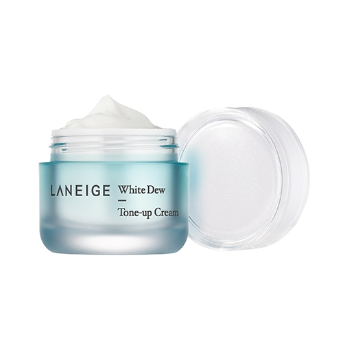 Крем для лица осветляюще-увлажняющий Laneige White Dew Tone Up Cream 50ml 3 - Фото 3