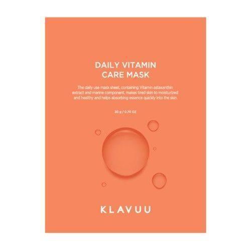 Маска Увлажняющая С Витаминным Комплексом Для Сияния Кожи Klavuu Daily Vitamin Care Mask 0 - Фото 1