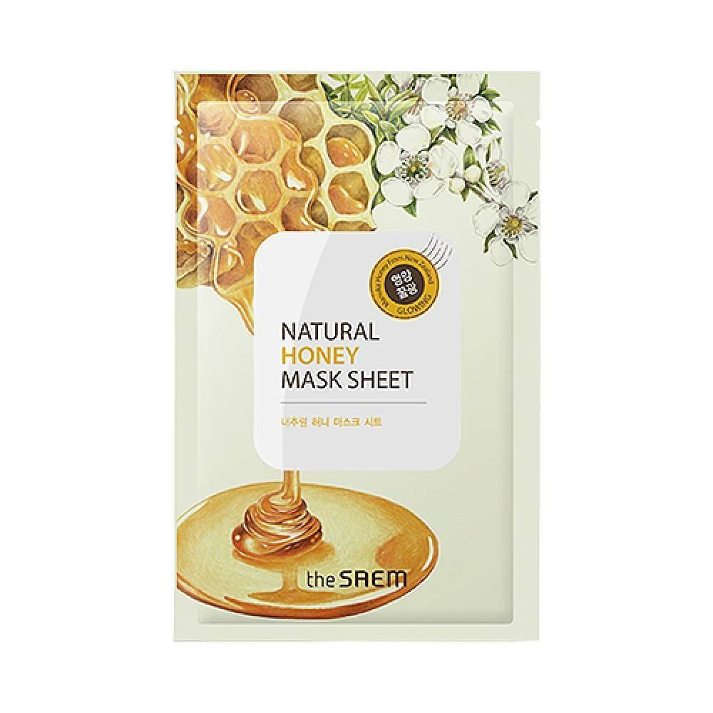 Маска Укрепляющая С Экстрактом Меда The Saem Natural Honey Mask Sheet 0 - Фото 1