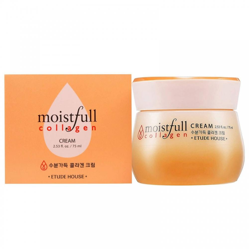 Увлажняющий Омолаживающий Крем С Коллагеном Moistfull Collagen Cream Etude House 75ml 0