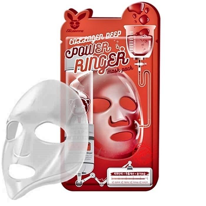 Маска омолаживающая с коллагеном Elizavecca Collagen Deep Power Mask Pack 23 ml 0 - Фото 1