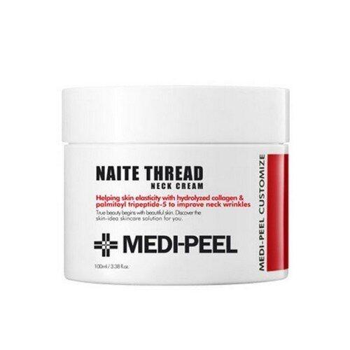 Крем Антивозрастной Для Шеи С Комплексом Пептидов Medi-Peel Naite Thread Neck Cream  2 - Фото 2
