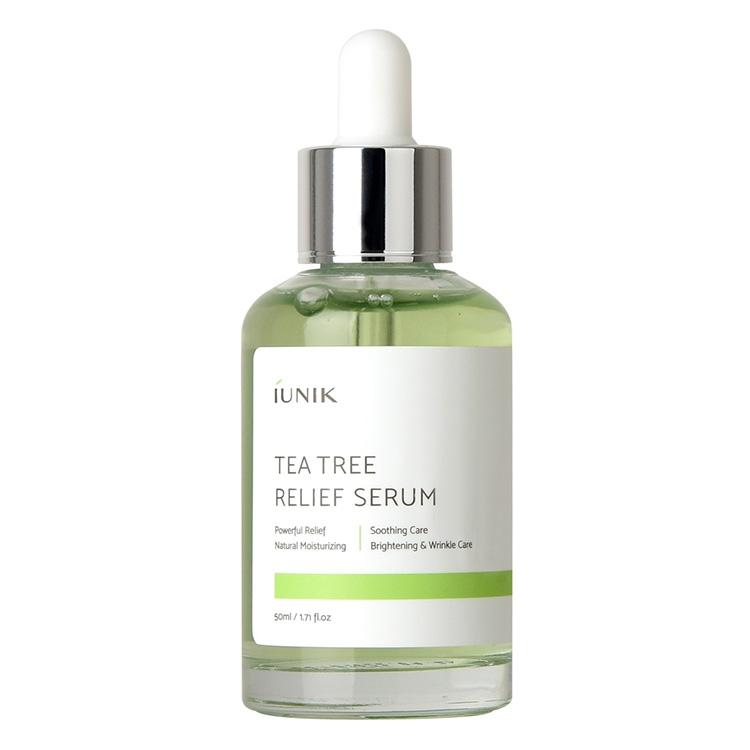 Сыворотка лечащая противовоспалительная с экстрактом чайного дерева IUNIK Tea Tree Relief Serum