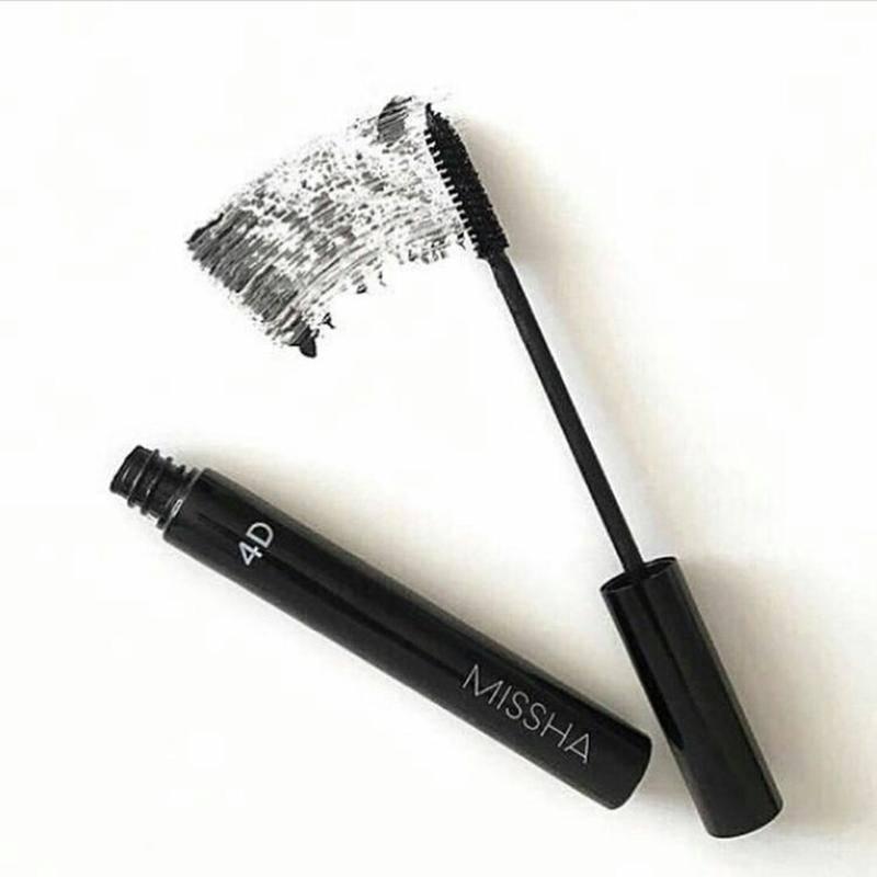 Тушь Удлинняющая Водостойкая С Растительным Воском Missha The Style 4D Mascara 1 - Фото 2