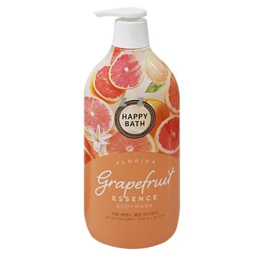 Гель для душа с экстрактом грейпфрута Happy Bath Grapefruit Essence Cooling Body Wash 1100ml 0 - Фото 1
