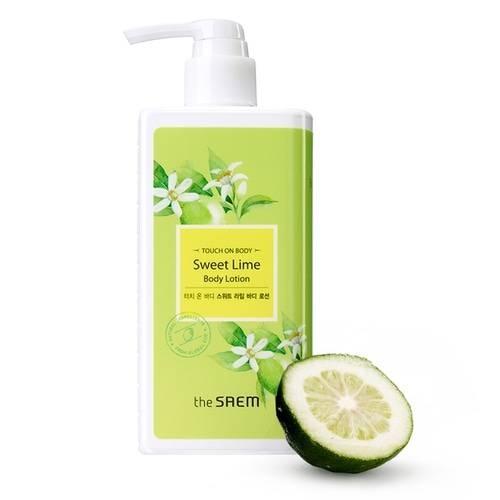 Лосьон Для Тела С Экстрактом Лайма The Saem Touch On Body Sweet Lime Body Lotion 300ml