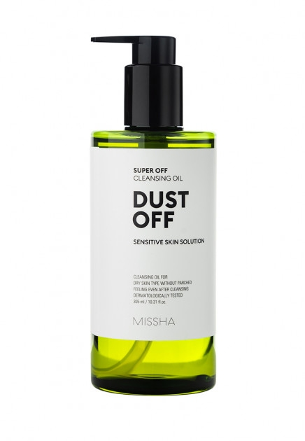 Натуральное очищающее гидрофильное масло MISSHA SUPER OFF CLEANSING OIL (DUST OFF) 305 ml 0 - Фото 1