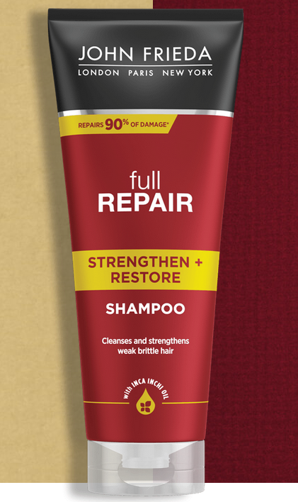 Кондиционер для волос укрепляющий + восстанавливающий «Полное восстановление» John Frieda Full Repair Strengthen & Restore Conditioner 250ml 2 - Фото 2