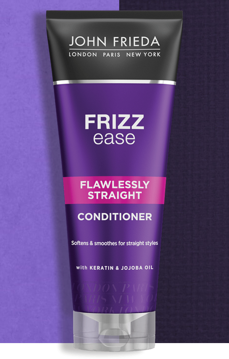 Кондиционер выпрямляющий для волнистых, вьющихся и непослушных волос John Frieda Frizz-Ease Flawlessly Straight 250ml 3 - Фото 3