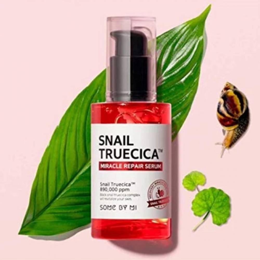 Сыворотка Увлажняющая С Улиточным Муцином Some By Mi Snail Truecica Miracle Repair Serum