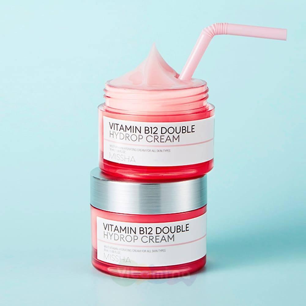 Крем Супер Увлажняющий С Витаминами MISSHA Vitamin B12 Double Hydrop Cream 50ml 1 - Фото 2