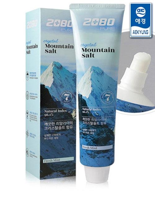 Зубная паста с гималайской солью Aekyung 2080 Crystal Mountain Salt Toothpaste 120g 0 - Фото 1