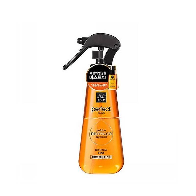 Мист для волос восстанавливающий с аргановым маслом Mise En Scene Perfect Serum Mist 150ml 2 - Фото 3