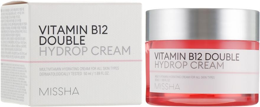 Крем Супер Увлажняющий С Витаминами MISSHA Vitamin B12 Double Hydrop Cream 50ml 0 - Фото 1