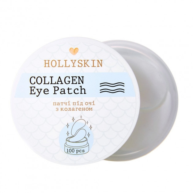 Патчи с коллагеном для глаз Hollyskin Collagen Eye Patch 100pcs 0 - Фото 1