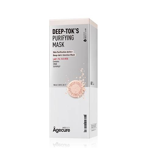 Маска-Детокс Очищающая С Венгерской Грязью Neogen Agecure Deep-Tok's Purifying Mask 100ml