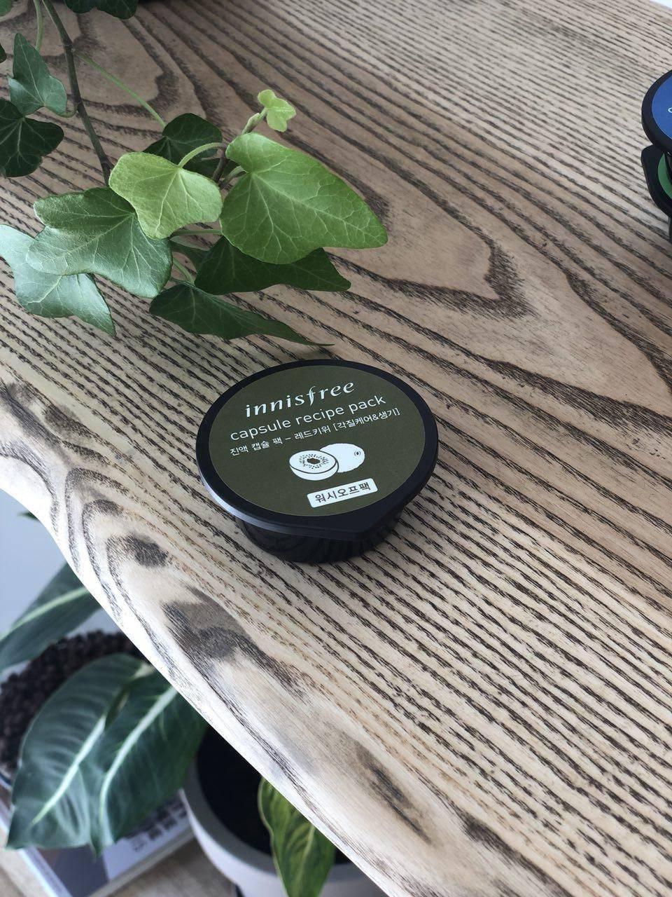 Маска Восстанавливающая С Экстрактом Киви Innisfree Capsule Recipe Pack Red Kiwi