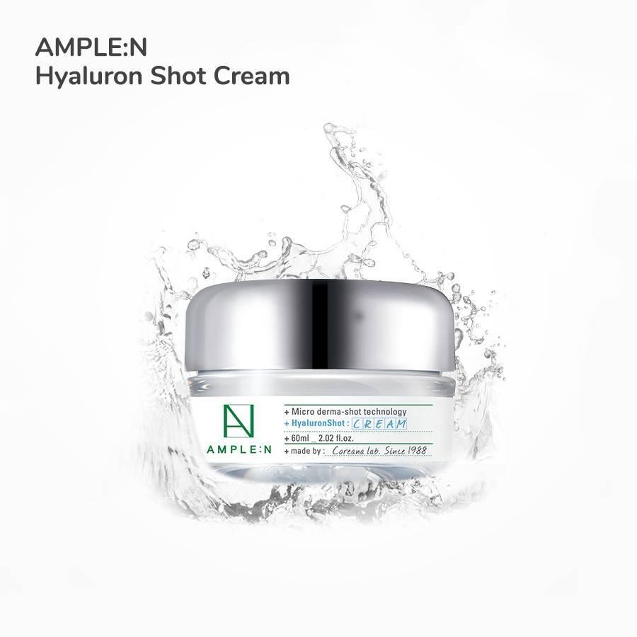 Крем Омолаживающий С Гиалуроновой Кислотой AMPLE N Hyaluronshot Cream 60ml