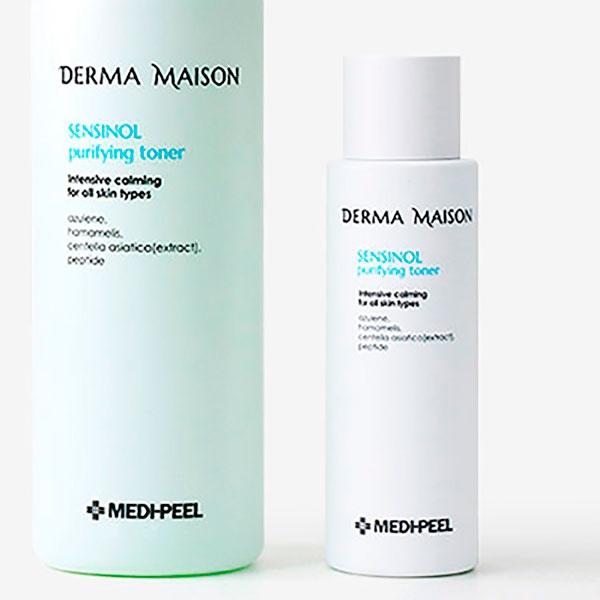 Успокаивающий тонер с азуленом и гиалуроновой кислотой Medi-Peel Derma Maison Sensinol Purifying Toner 250ml 0 - Фото 1