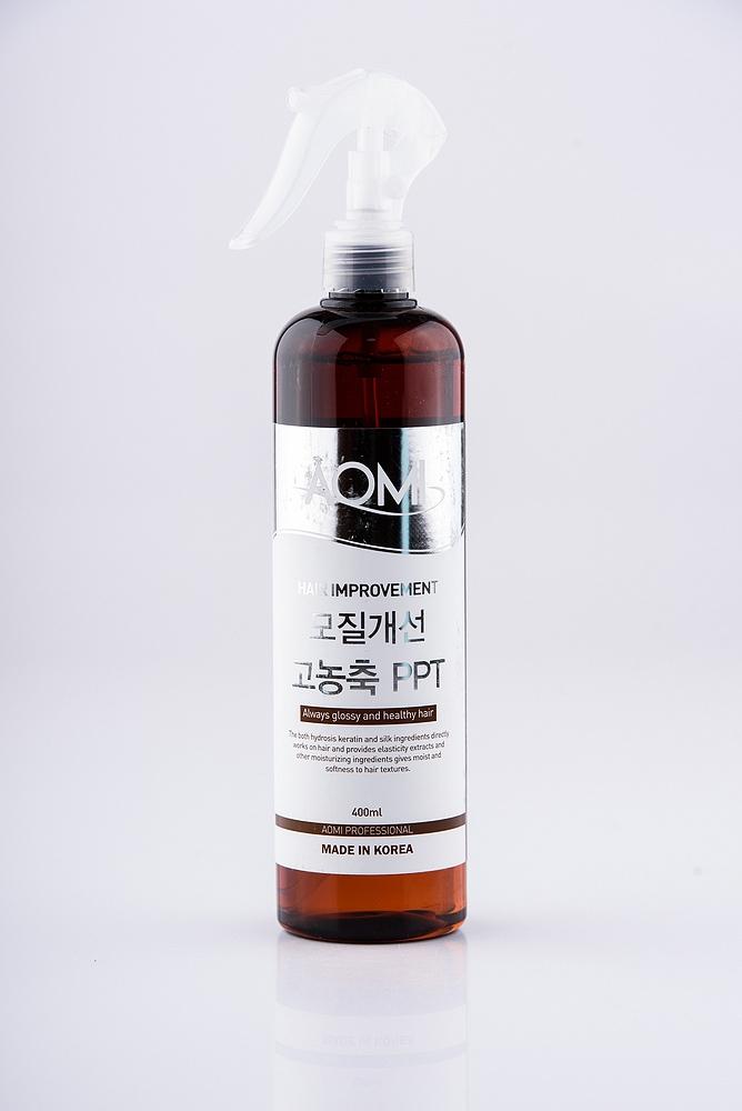 Термозащита для волос с протеинами шелка Aomi Basic Repair PPT Balance 400ml 2 - Фото 2