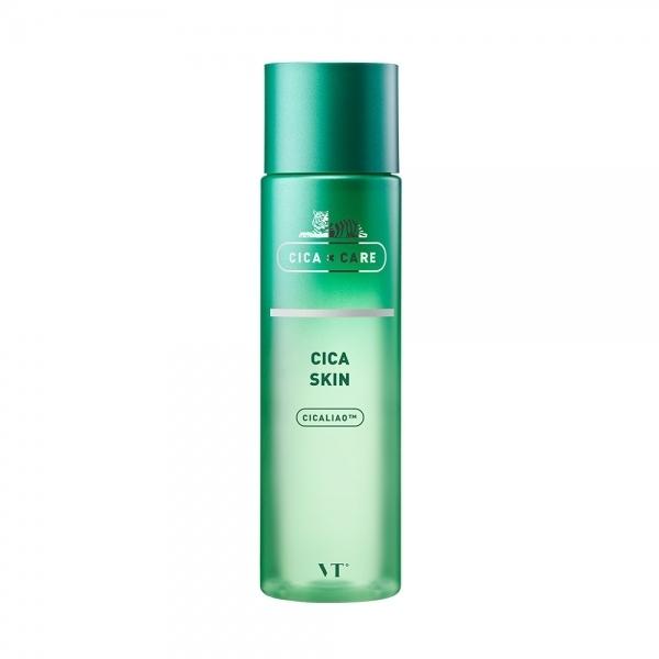 Тонер успокаивающий с экстрактом центеллы  VT Cosmetics  VT Cica Skin 200ml 2 - Фото 2