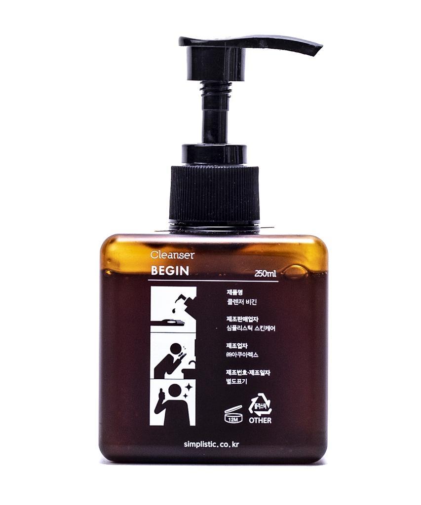 Пенка органическая для бережного очищения кожи с мёдом Simplistic Skincare Cleanser Begin 250ml 2 - Фото 2